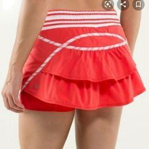 Lululemon Track Attack Skort Skirt Shorts